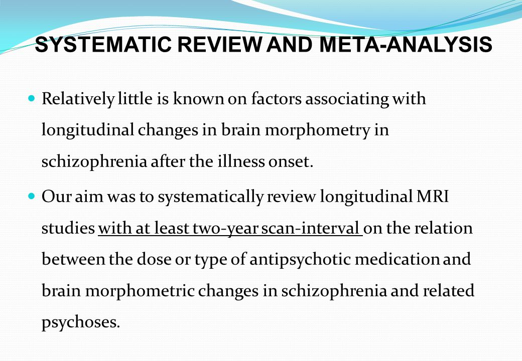 In performed meta-analyses of specific brain areas no significant associations were found.