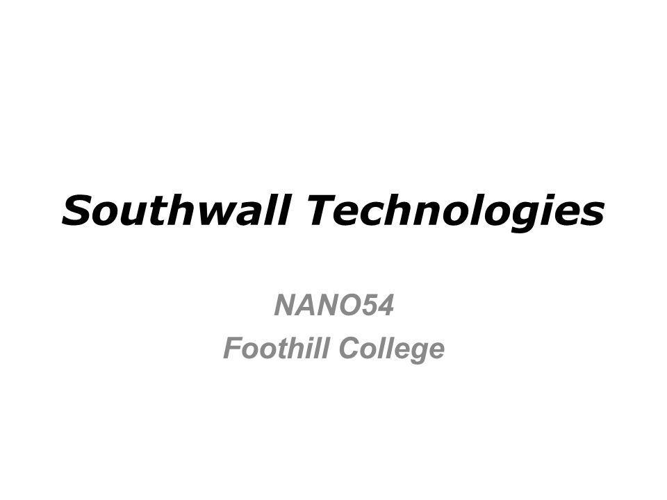 Technology Overview Southwall high performance windows (sputtered thin films) Low-e (emissivity) Heat Mirror and XIR Inline sputtering systems Architectural glass