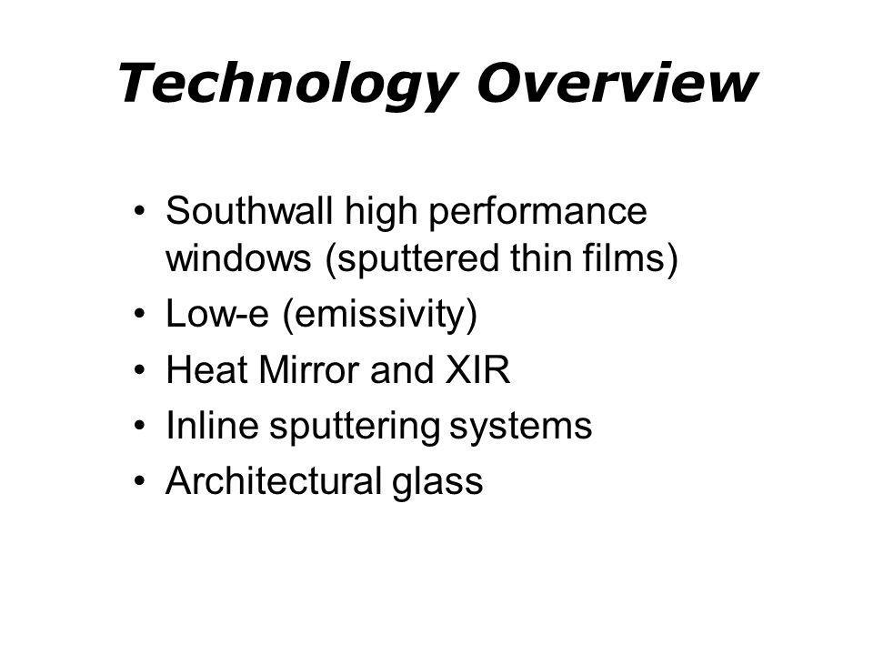 Southwall History Suntech (Marin) Southwall (~1980) Southwall Europe (1999) Solutia (2011) Eastman (2012) Southwall Technologies CEO Rings NASDAQ Closing Bell - http://www.youtube.com/watch?v=NsKgh9L52Nk