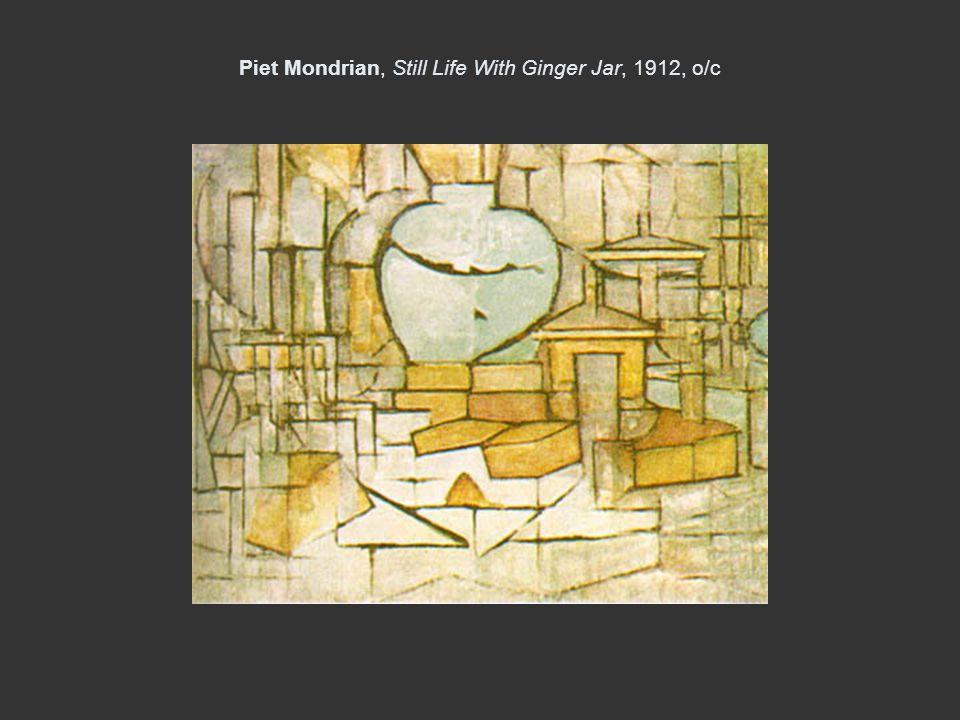Piet Mondrian, Still Life With Ginger Jar, 1912, o/c