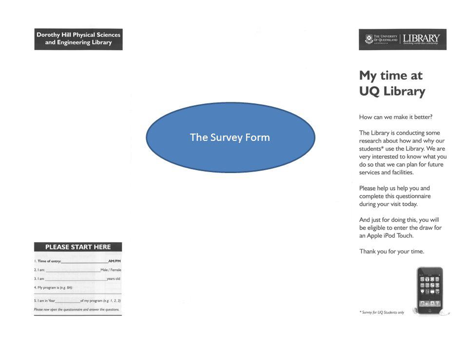 The Survey Form