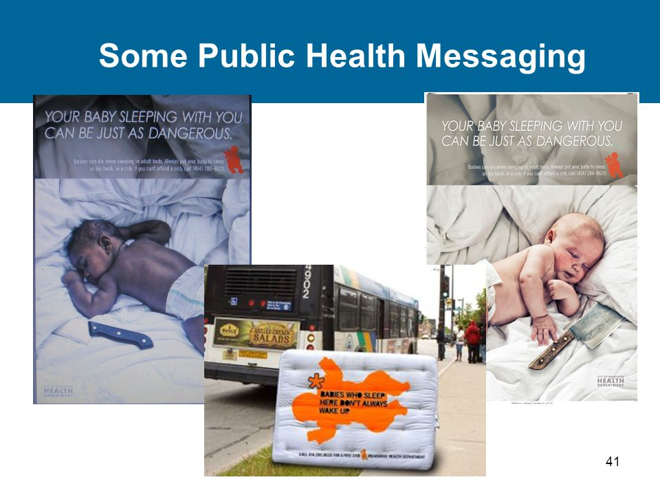 41 Some Public Health Messaging
