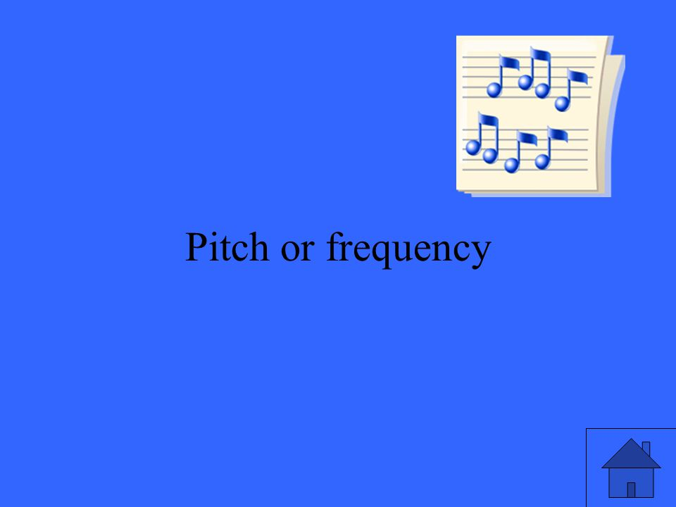 29 Pitch or frequency