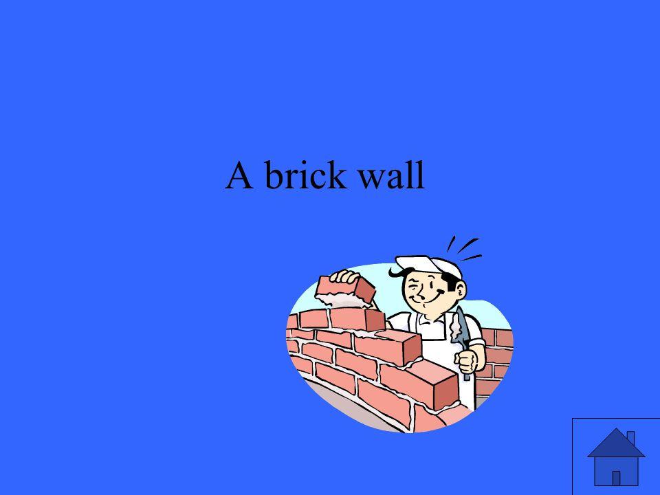 47 A brick wall