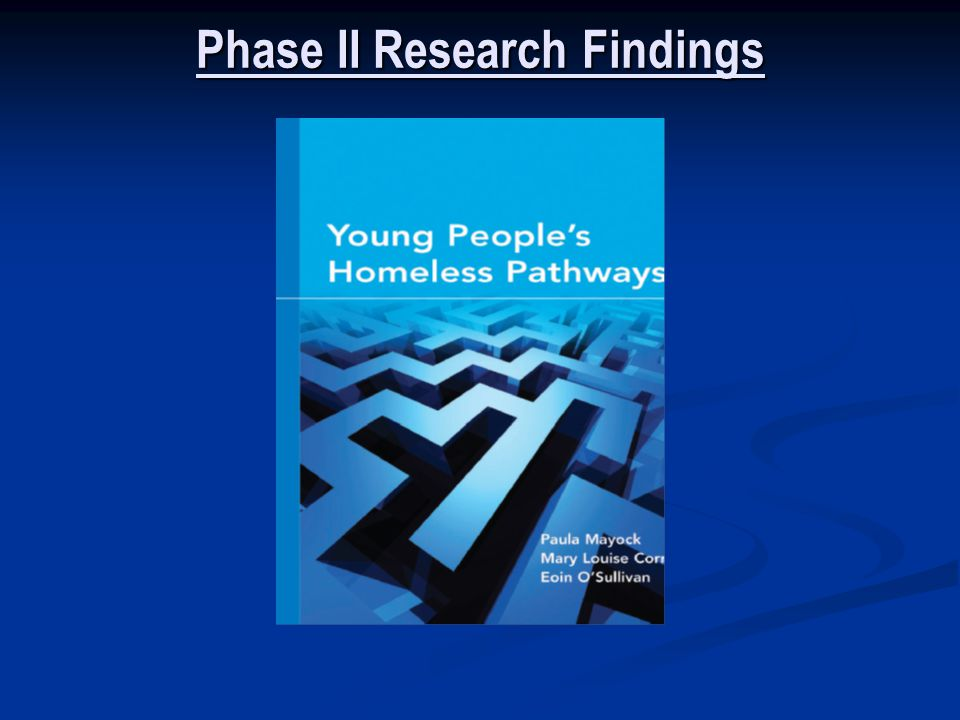 Phase II Research Findings