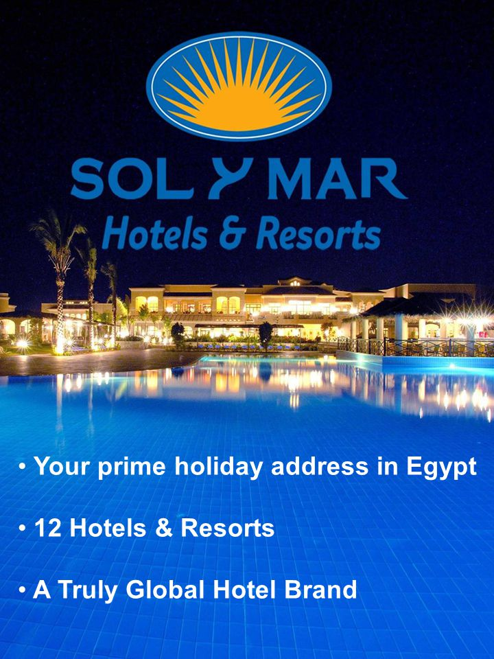 We are already located in prime destinations in Egypt and idyllic beach front locations.