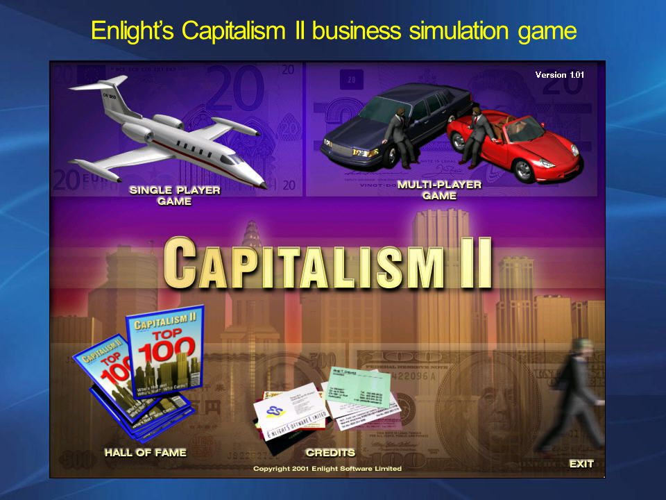 Enlights Capitalism II business simulation game