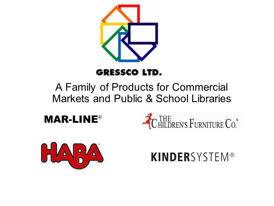 A Family of Products for Commercial Markets and Public & School Libraries MAR-LINE ®
