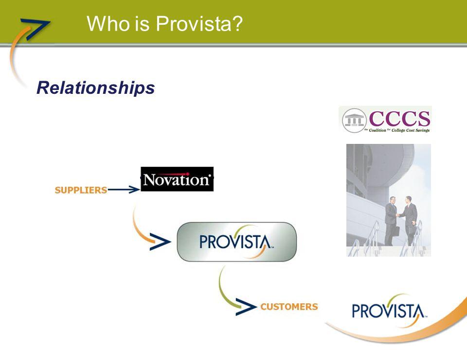 Who is Provista.