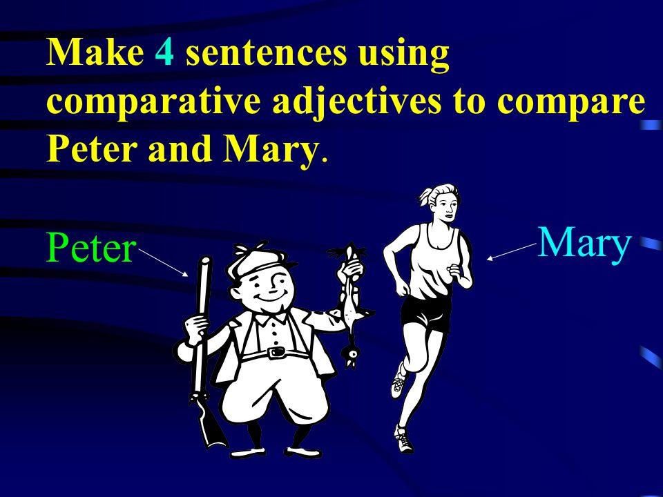 Lets make some sentences!
