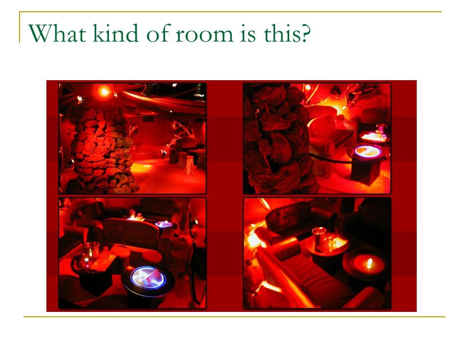 Two Systems at Work in Representation: What kind of room is this? A restaurant or a tea house? Signs: Red color, paper lantern, floor-to-ceiling windo