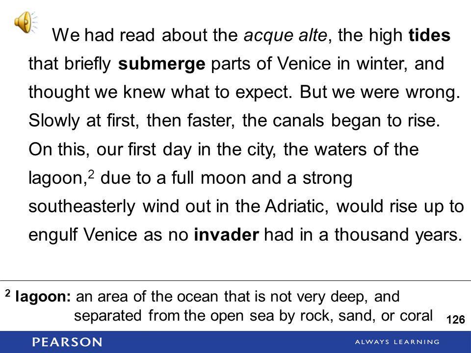 We had read about the acque alte, the high tides that briefly submerge parts of Venice in winter, and thought we knew what to expect.