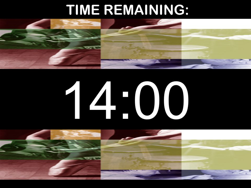 TIME REMAINING: 14:00