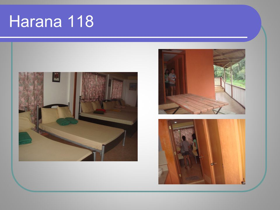 Harana Room Harana 118 is reserved for the Rafael Family.