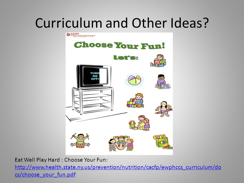 Curriculum and Other Ideas.