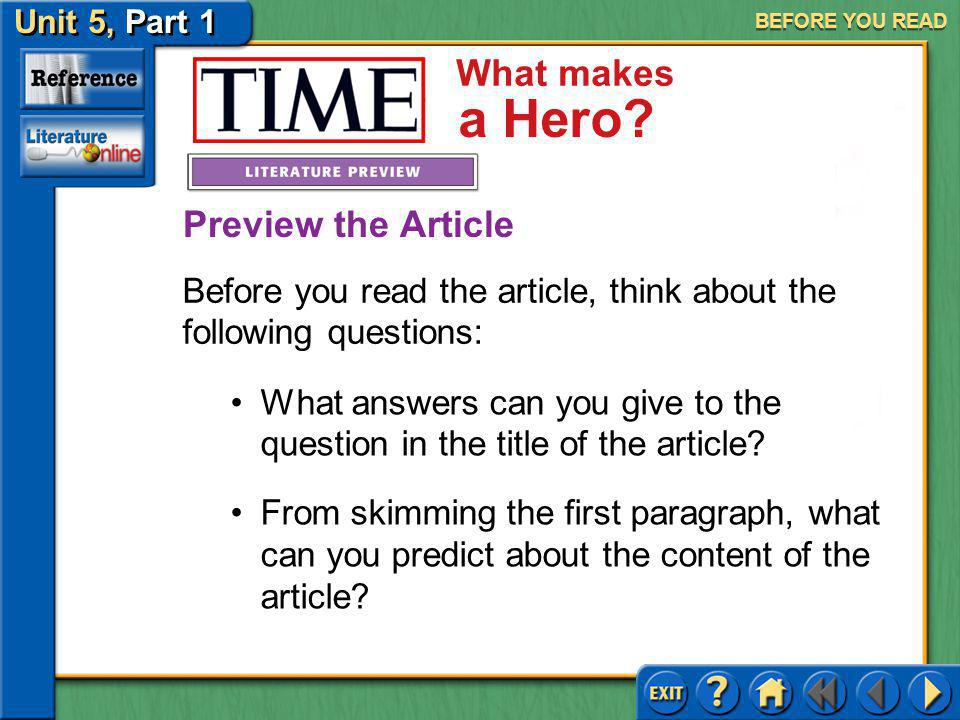Essay On Heroes