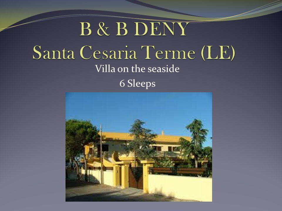 Villa on the seaside 6 Sleeps