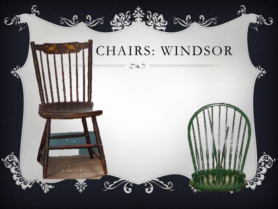 CHAIRS: WINDSOR