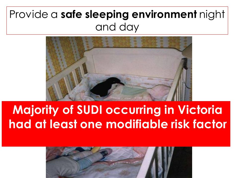 Parents and health professionals are either unaware, do not understand, or choose to ignore the Safe Sleeping recommendations