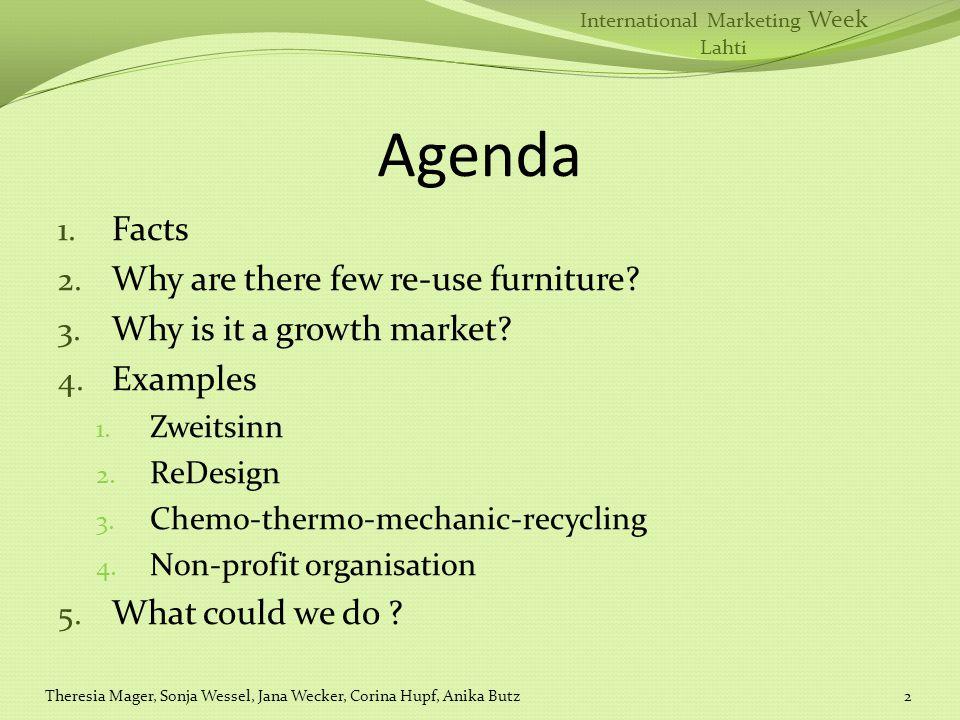 International Marketing Week Lahti Agenda 1. Facts 2.