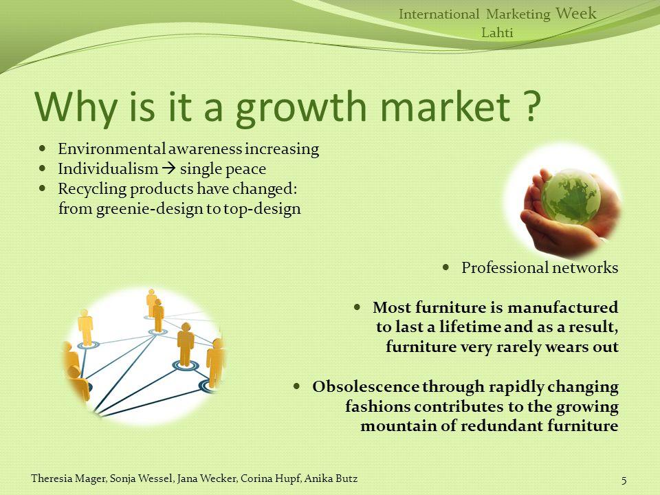 International Marketing Week Lahti Why is it a growth market .
