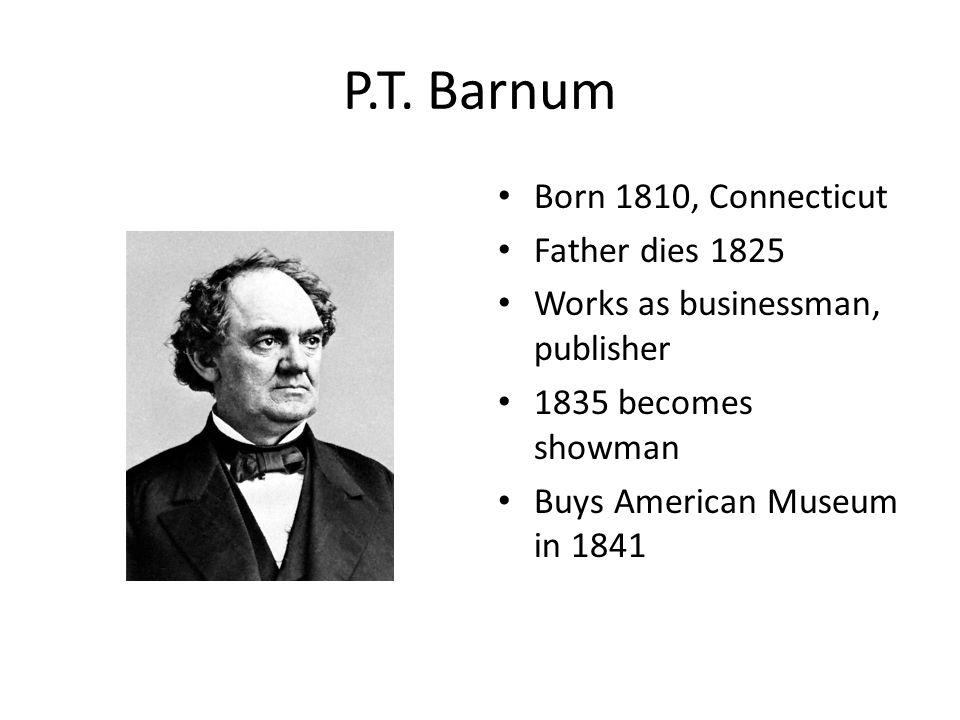 P.T.Barnum 1850 invites Swedish singer, Jenny Lind, to US Retires in 1855, publishes autobio.