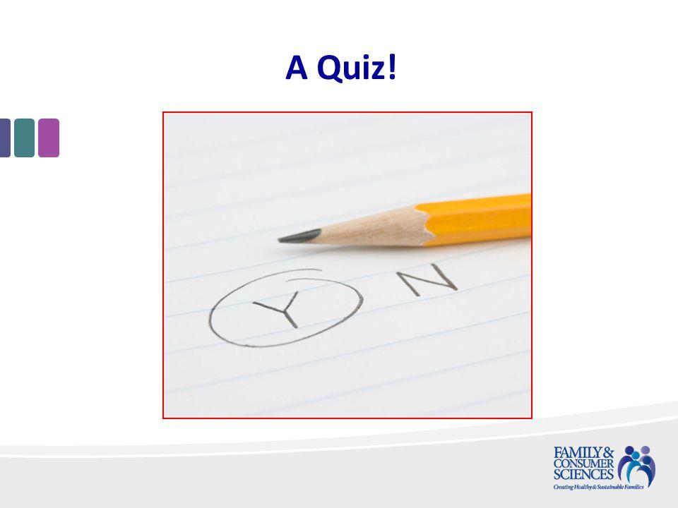 A Quiz!