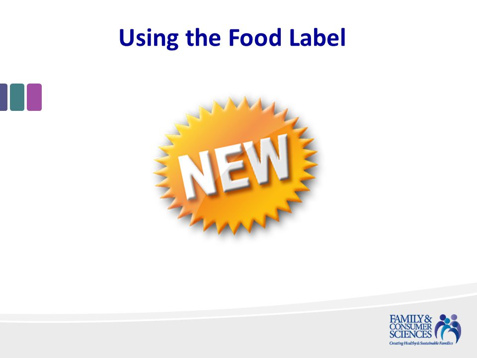Using the Food Label