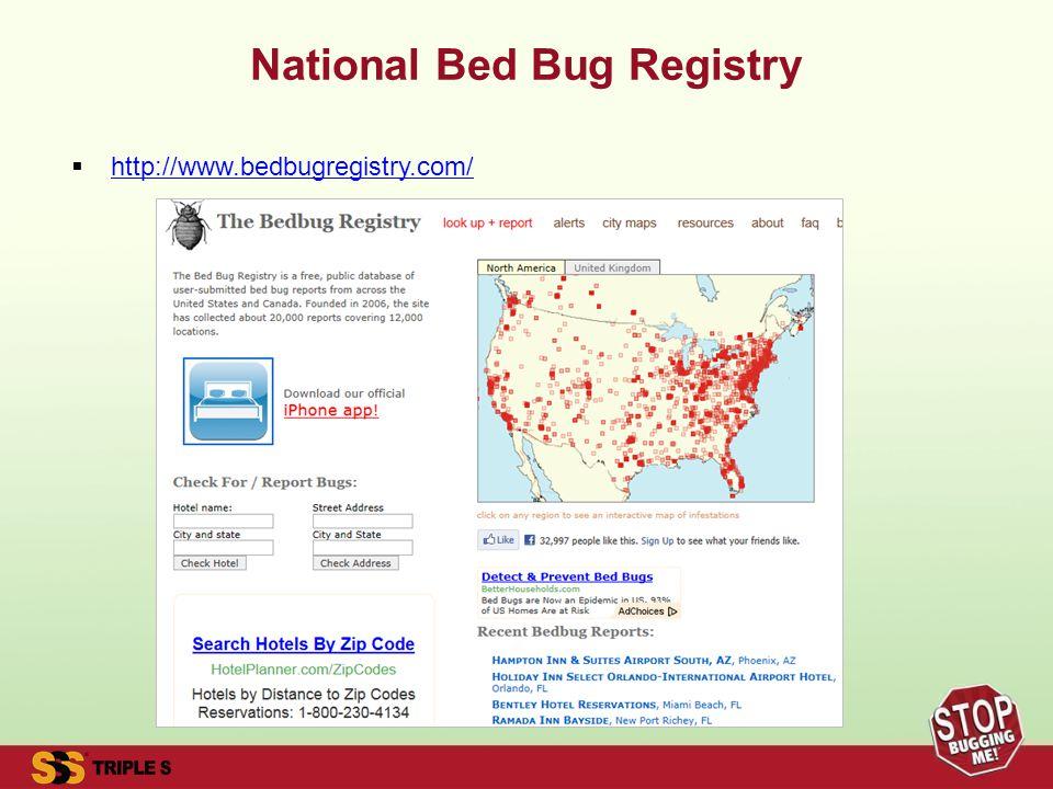 National Bed Bug Registry http://www.bedbugregistry.com/