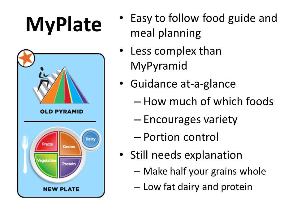 Protein Foods: 5 to 6.5 oz equiv/day Protein, B-vitamins, iron, zinc, magnesium.