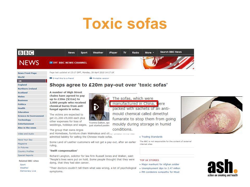 Toxic sofas
