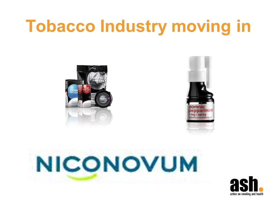 Tobacco Industry moving in
