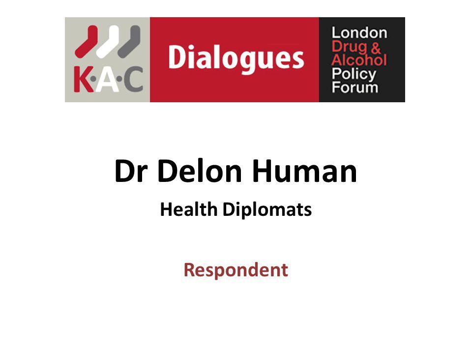 Dr Delon Human Health Diplomats Respondent