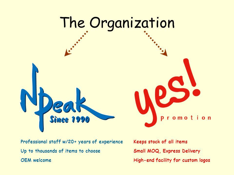 Time Line 1990 start of North Peak/ Sales Dept.1 established 2001 Sales Dept.
