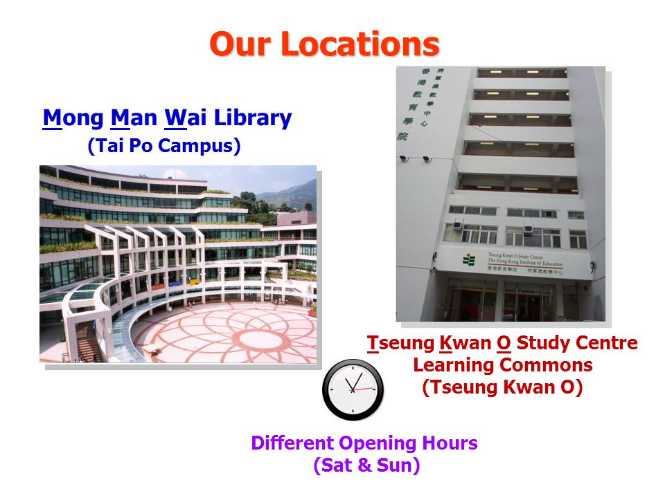 Book Return Service for JULAC Card Holders You can return books borrowed with your JULAC cards at MMW Library or Tseung Kwan O Study Centre Learning Commons No overdue items Must return books in person with your JULAC card at the Circulation Counter At least 3 working days before the due date