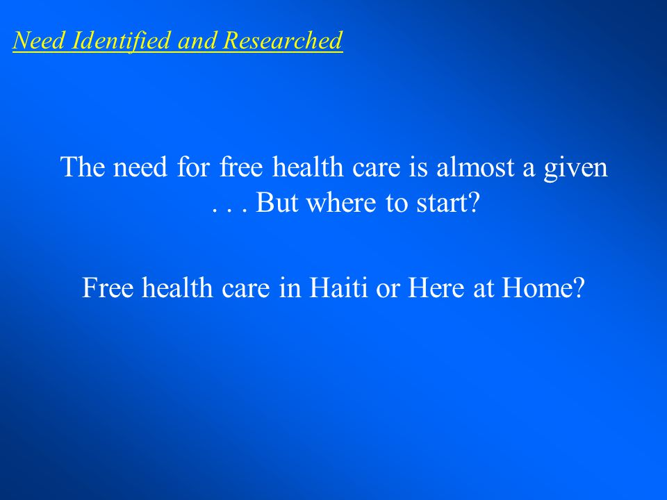 What is a Free Clinic.
