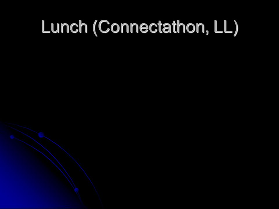 Lunch (Connectathon, LL)