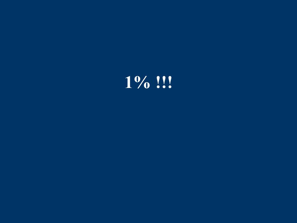 1% !!!