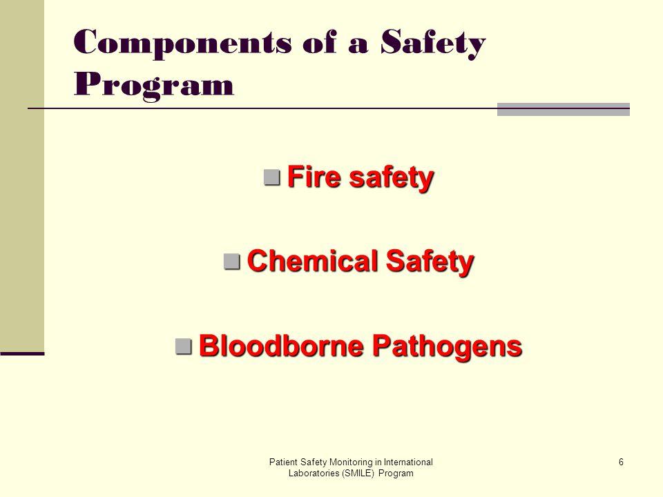 Patient Safety Monitoring in International Laboratories (SMILE) Program 37 Bloodborne Pathogens Most Common Bloodborne Pathogens Hepatitis B Hepatitis C HIV