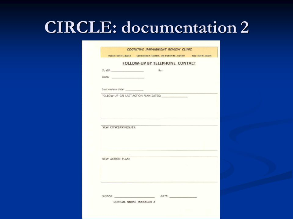 CIRCLE: documentation 2