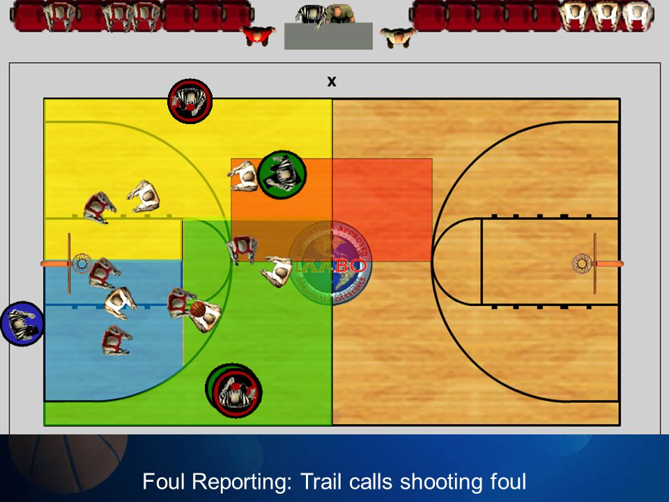 Foul Reporting: Trail calls shooting foul