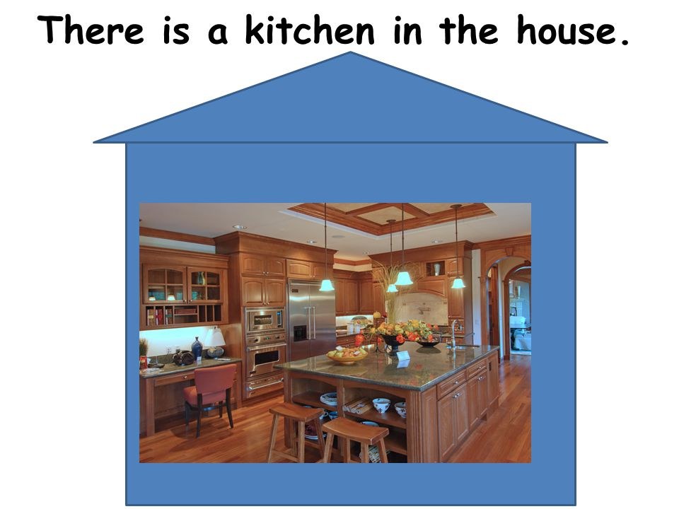 There is a kitchen in the house.