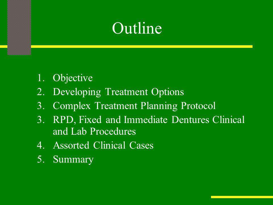 Clinical Case I: Immediate Denture