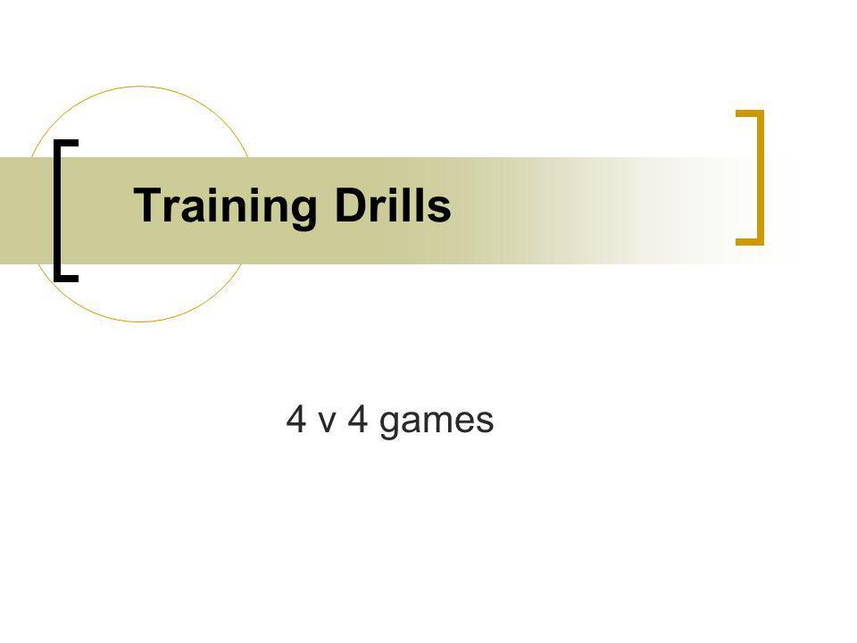 Training Drills 4 v 4 games