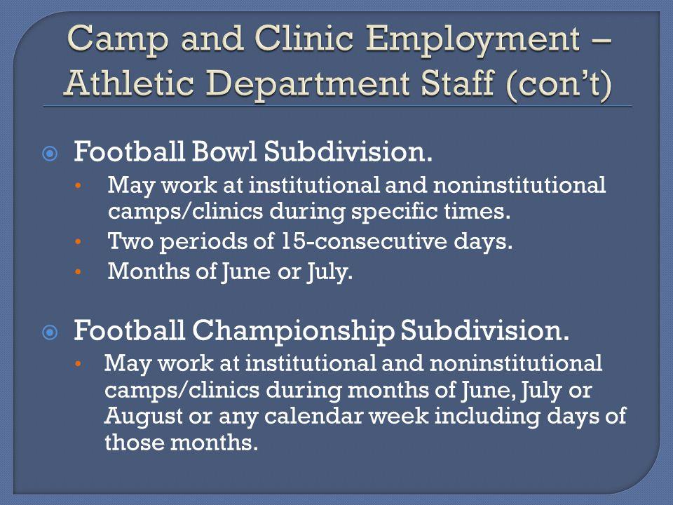 Football Bowl Subdivision.