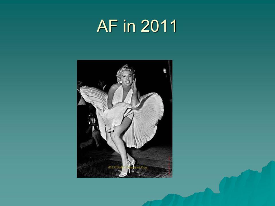 AF in 2011