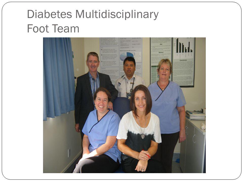 Diabetes Multidisciplinary Foot Team
