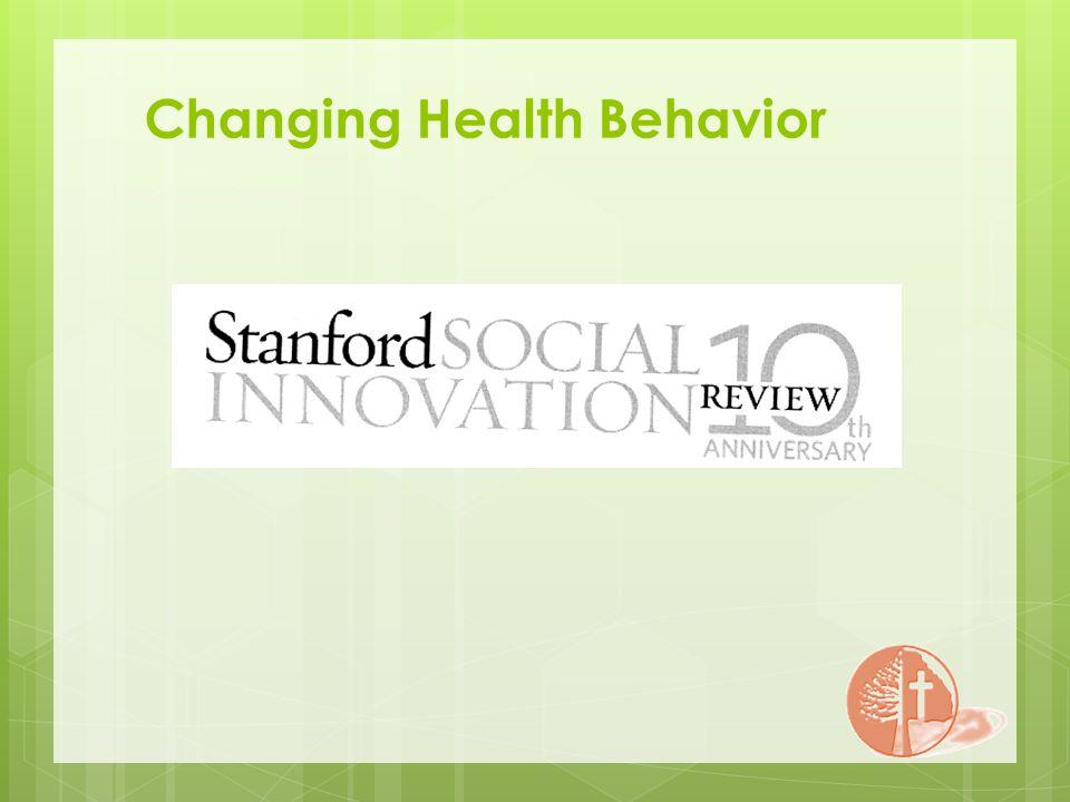 Changing Health Behavior