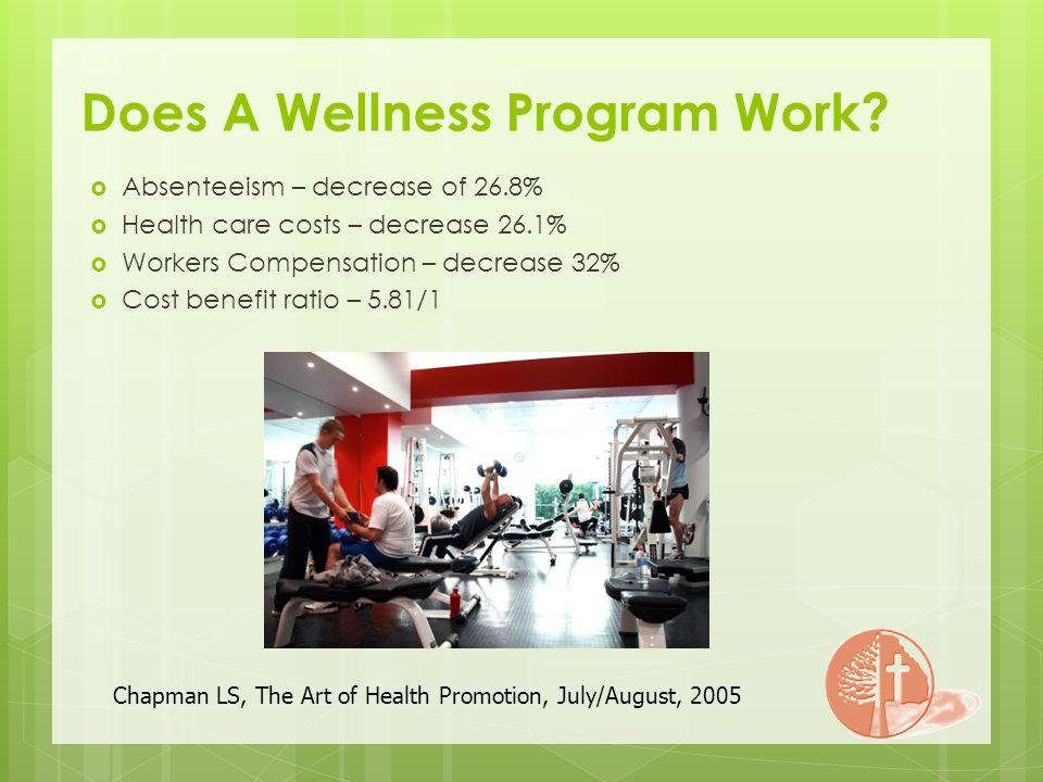 Does A Wellness Program Work.
