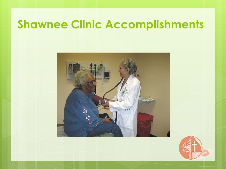 Shawnee Clinic Accomplishments